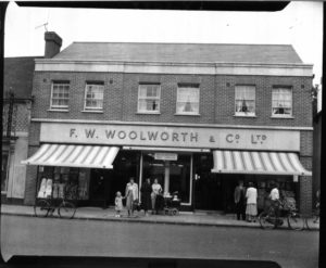 One of many Woolworth's General Stores.